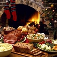 Dietitian's Christmas Table