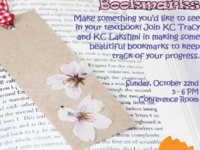 DIY Floral Bookmarks