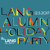 Lang Alumni Holiday Party