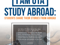 I Am UTA Study Abroad: Students Share Their Experiences from Abroad