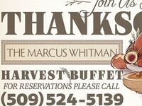 2017 Thanksgiving Harvest Buffet @ The Marcus Whitman