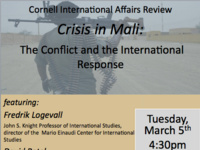 Crisis in Mali: The Conflict and the International Response