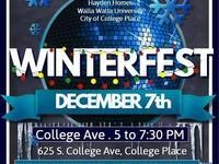Winterfest @ College Place City Hall