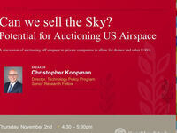 CALE Presents: Chris Koopman, Mercatus Center: Can we sell the sky?