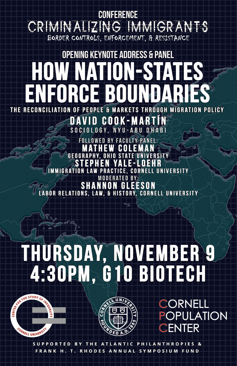 How Nation-States Enforce Boundaries: The Reconciliation of People and Markets Through Migration Policy