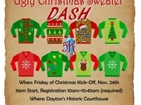 Ugly Christmas Sweater 5K Dash @ Dayton's Historic Courthouse