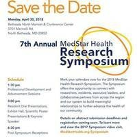 7th Annual MedStar Health Research Symposium