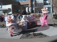 Parade of Nations and Chinese Lion Dance