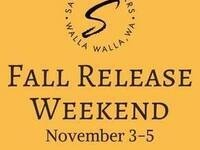 Fall Release Weekend @ Saviah Cellars