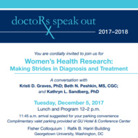 Doctors Speak Out: Women's Health Research