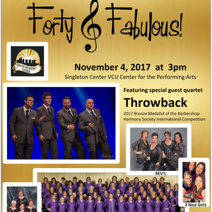 40th Anniversary Concert: Forty & Fabulous!