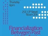 Financialization Between Past and Future
