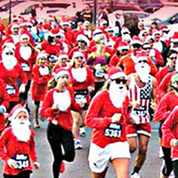 Santas on the Loose - Annual 5K Benefit Run