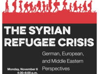 The Syrian Refugee Crisis: German, European, and Middle Eastern Perspectives