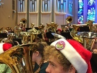 Tuba Christmas 2017 in Northfield