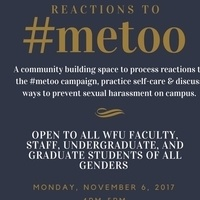 Reactions to #MeToo