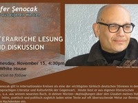 Literary Reading of Original Works by Zafer Şenocak (in German)