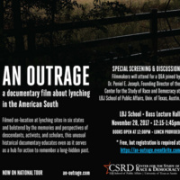 AN OUTRAGE: A documentary film about lynching in the American South