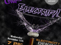 Science Cabaret: 'Electrify!'