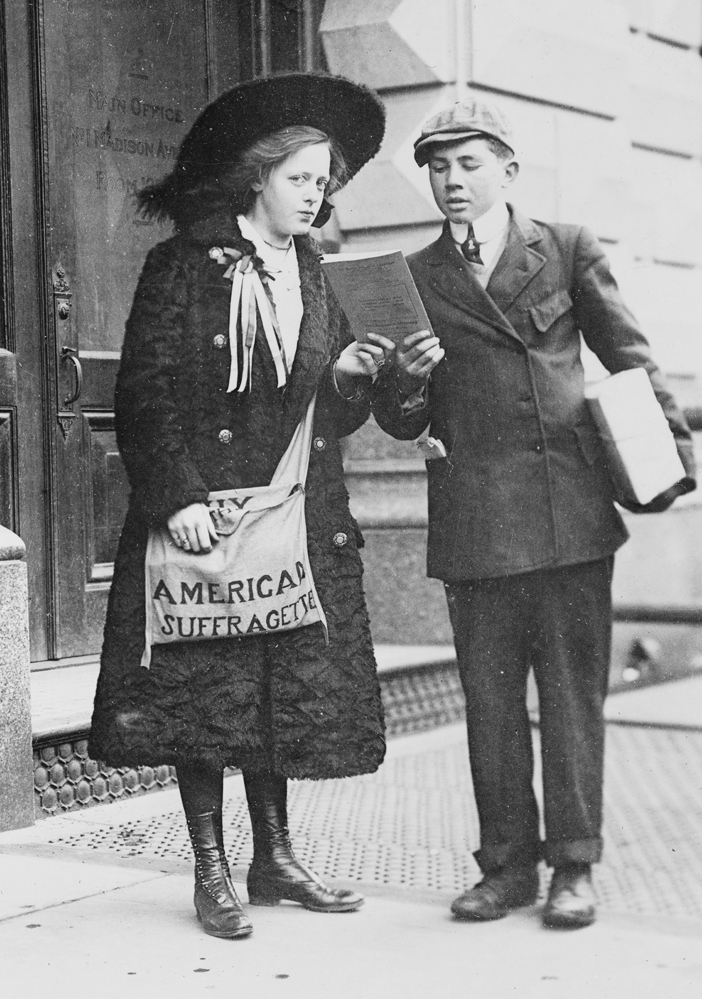 Fight To the Beginning: The Struggle for Women's Suffrage in New York