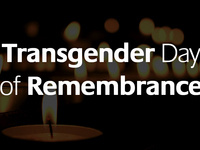 Transgender Day of Remembrance Candlelight Vigil