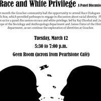 Race and White Privilege: A Panel Discussion