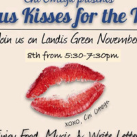 VSU and Chi Omega's Campus Kisses for the Troops