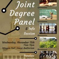 Joint Degree Panel and Info Session