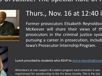Lawyers & Leaders: Ministers of Justice - The Special Role of Prosecutors.
