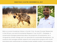 The ecology of spotted hyenas in Zambezi National Park and how it is influenced by food subsidies provided by the Victoria Falls urban community