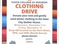 Tippie Senate Clothing Drive