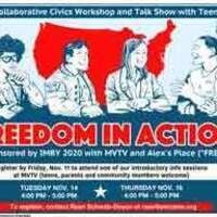 Intro Meeting: Freedom in Action - A Collaborative Civics Workshop and TV Talk Show with Teens