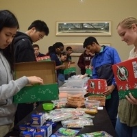 Operation Christmas Child Packing Party at MIT: 7th annual Fundraiser & Community Service project.