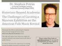 Historians Beyond Academia: The Challenges of Curating a Museum Exhibition on the American Folk Music Revival