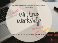 LGSC Writing workshop