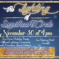 The Lighting of Sweetheart Circle