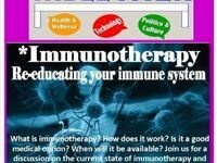 Table Talk Monday: Immunotherapy