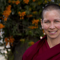 Talk by Buddhist Nun on Happiness