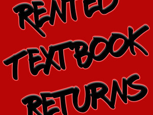 Textbook Rental Returns