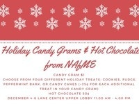 Holiday Candy Grams & Hot Chocolate from NAfME!