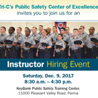 Public Safety Training Center - Academy Instructor Job Fair