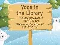 Winter Chill Zone 2017: Yoga in the Library