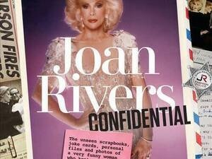 Booksigning With Melissa Rivers Joan Confidential The Unseen ScrapbooksJoke Cards
