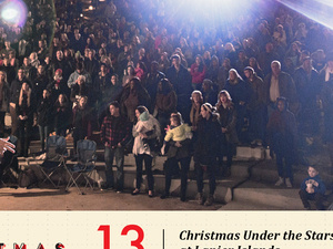 Christmas Under the Stars at Lake Lanier Island with Free Chapel