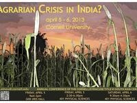 South Asia Program Annual Conference: 'Agrarian Crisis in India?'