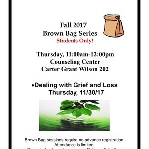 Brown Bag Series - Dealing with Grief and Loss