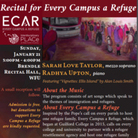 Recital for Every Campus a Refuge