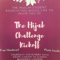 The Hijab Challenge Kickoff