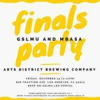 MBA Finals Party