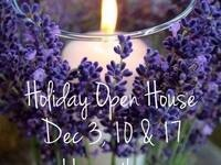 Holiday Open House @ Blue Mountain Lavender Farm